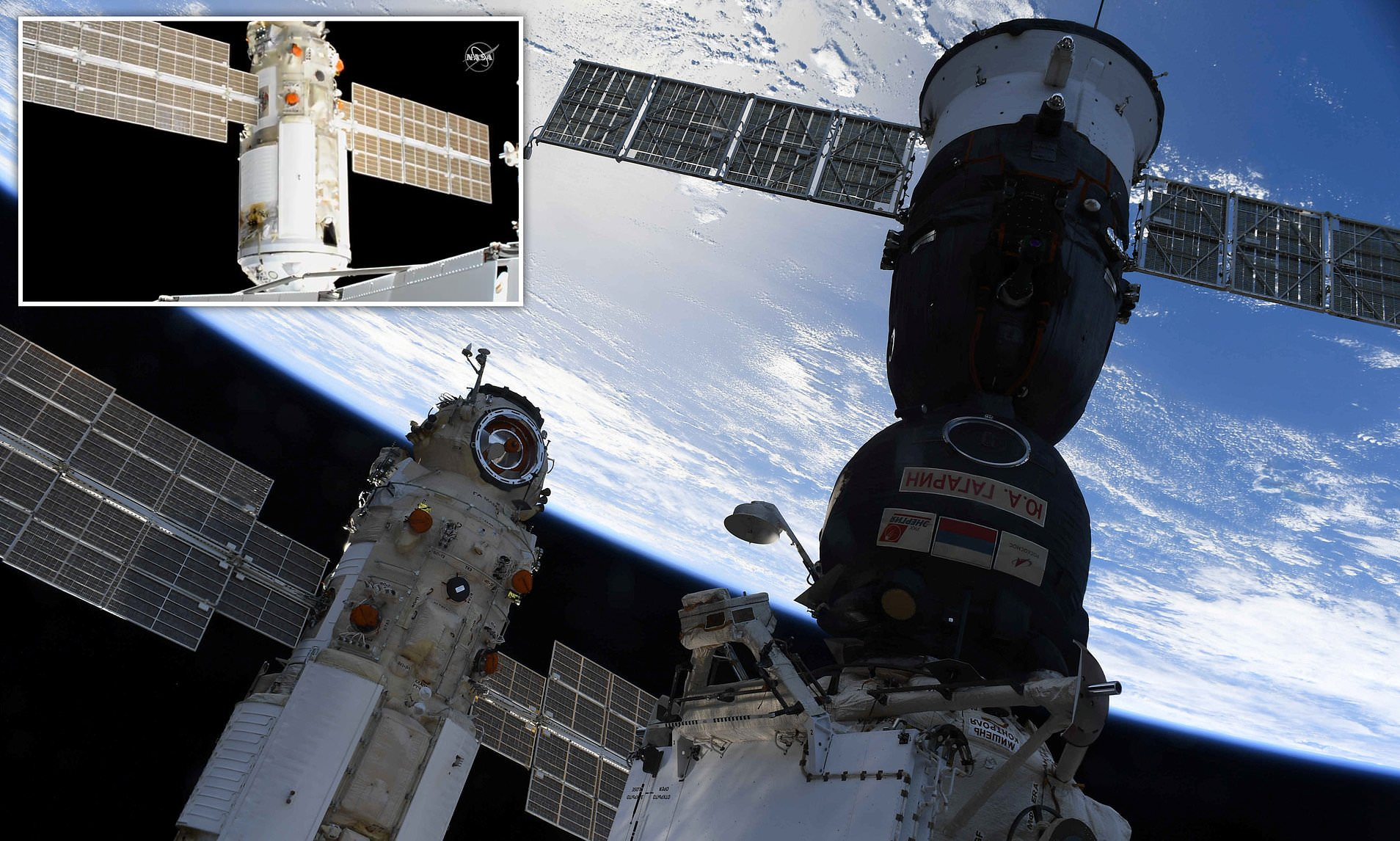 International Space Station lost control after Russian module misfire