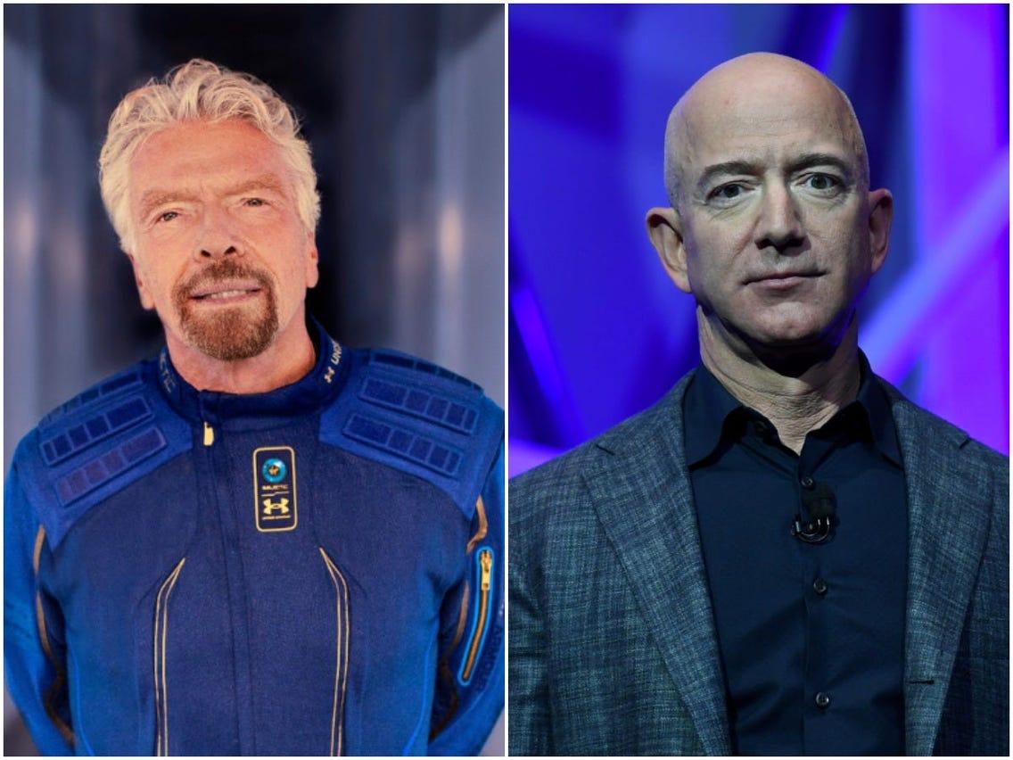 Branson's Virgin and Jeff Bezos' Blue Origin controversies rising